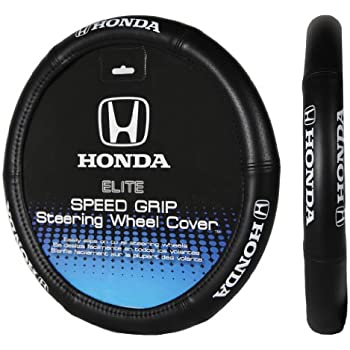 Plasticolor 006732R01 Elite Series Speed Grip Honda Steering Wheel Cover