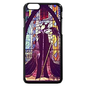Customized Black Hard Plastic Plastic Disney Sleeping Beauty Maleficent iPhone 6 4.7 Case, Only fit iPhone 6 4.7""