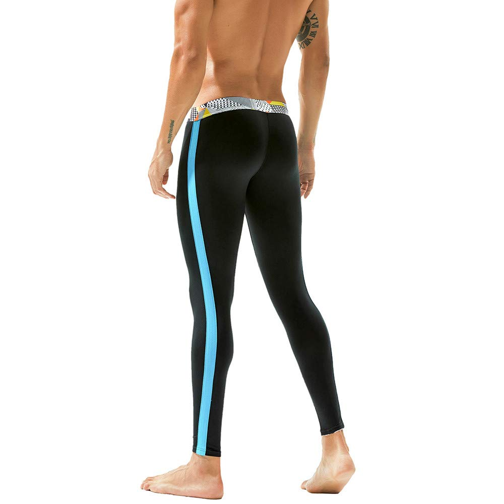 OHQ Pantalones Ch/áNdal Hombres Polainas Invierno Leggings Algod/óN Transpirables Deportivos T/éRmica Pantalones Largos De Johns Calzoncillos C/óModo