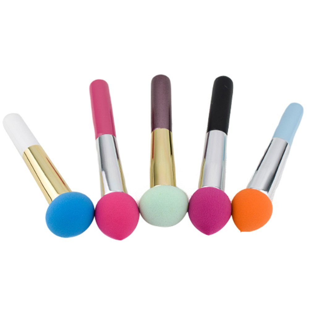 1 x Kosmetik Make-up Pinsel flüssige Creme Cremegrundlage Schwamm Pinsel Bürste Sanwood
