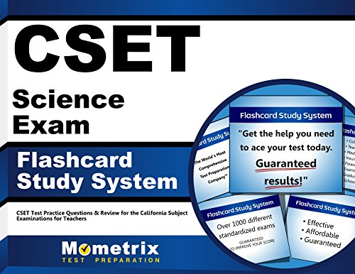 CSET Science Exam Flashcard Study System: CSET Test Practice Questions & Review for the California Subject Examinations for Teachers (Cards)