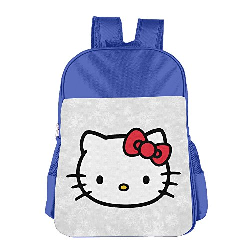 boys-girls-hello-kitty-backpack-school-bag-2-colorpink-blue-royalblue