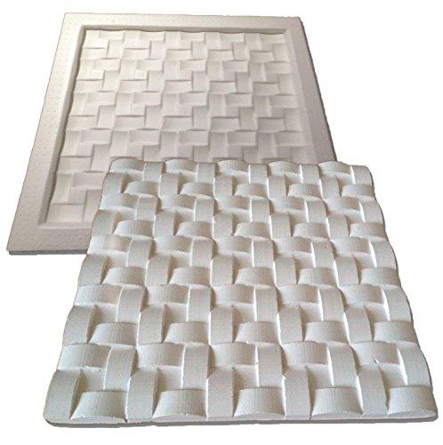Forma De Plástico C/ Borracha Gesso 3d 001 Digitalartrio