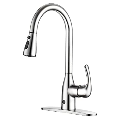BadiJum High Arc Touchless Kitchen Sink Faucet
