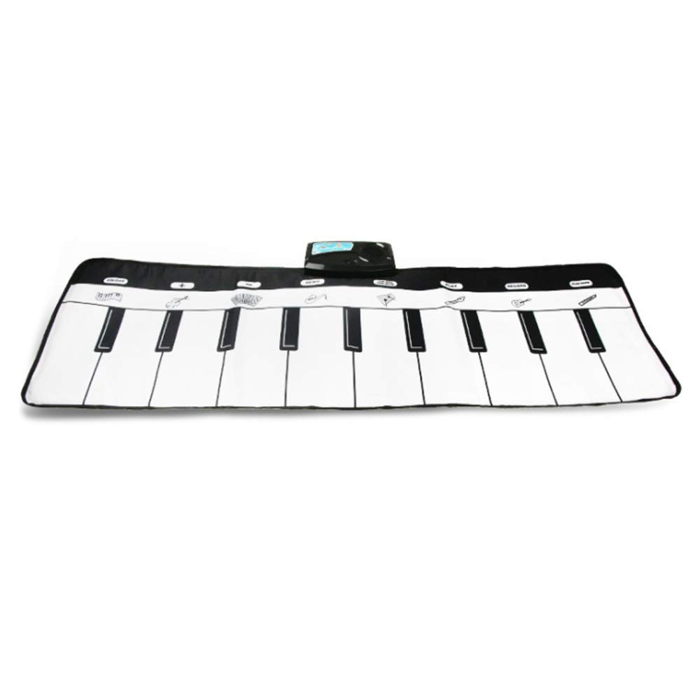 Play Keyboard Mat 43 Inches 10 Keys Foldable Floor Keyboard Piano Dancing Activity Mat Musical Keyboard Playmat Touch-sensitive Step And Play Instrument Toys For Toddlers Kids Children's Gift Differen by GAOCAN-gq (Image #5)