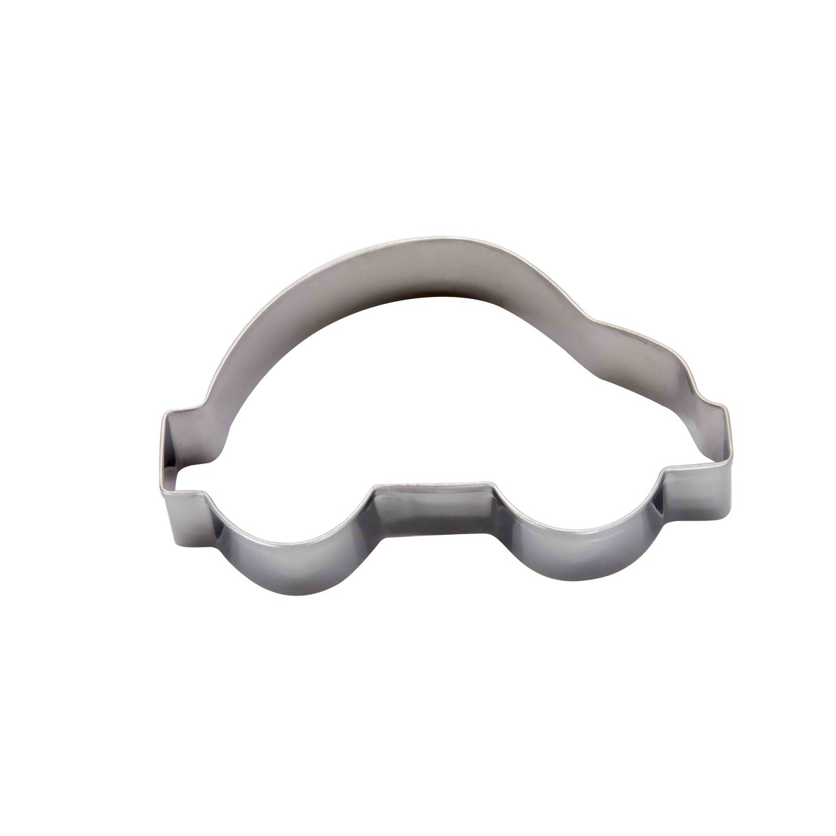 DeColorDulce Car-Shaped Silver-Coloured Stainless-Steel Biscuit Cutter Desconocido M288405