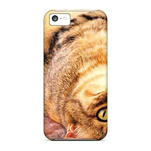 MMZ DIY PHONE CASECynthaskey Scratch-free Phone Case For ipod touch 5- Retail Packaging - Playful Kitty W