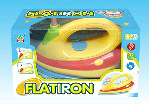 Child Play Iron - MeeYum Pretend Play Kids Toys Function Iron with Light and Music