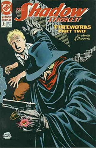 (Shadow Strikes!, The #9 VF/NM ; DC comic book)
