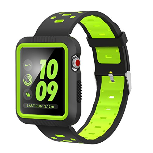EloBeth Silicone iWatch Resistant Protective