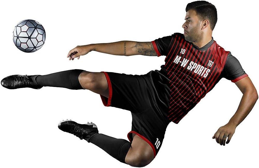 Amazon.com: M-W Sports - Juego completo de camisetas de ...