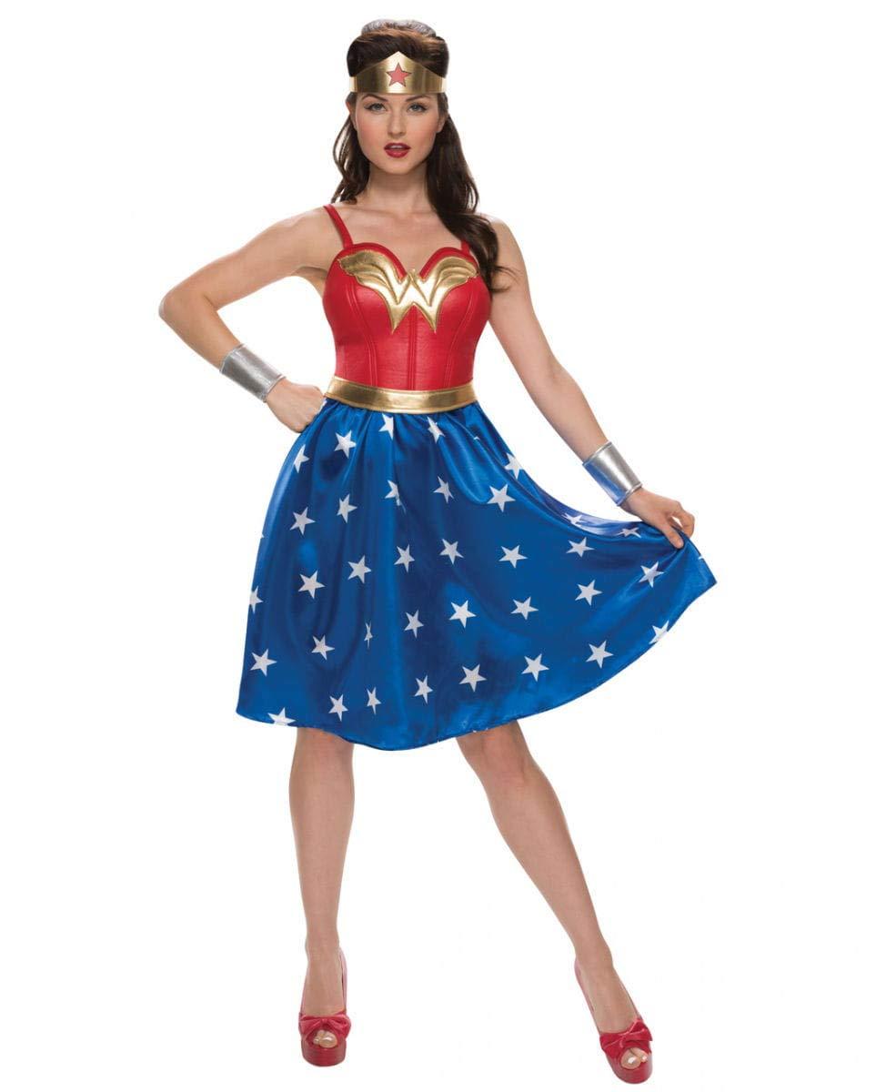 Horror-Shop Mujer Maravilla del Vestido del Traje de 4 Piezas. XL ...