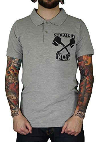 "Shaking Ground Straight Edge ""HAMMER"" Polo-Shirt"