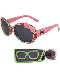 Sunglasses for Children - Floral Patterned Frame - Ages 3...