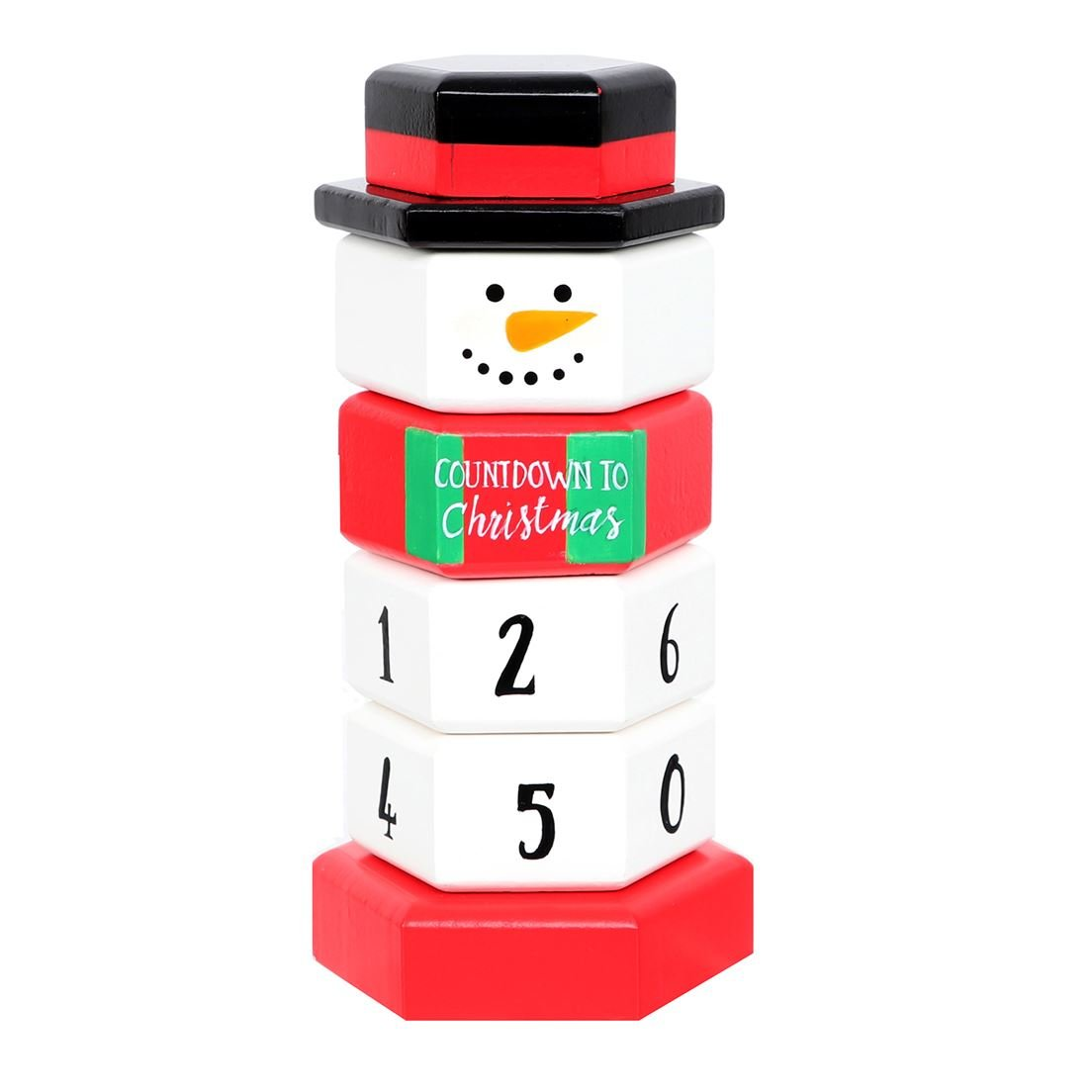 DEI Snowman Movable Body Countdown Calendar