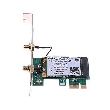 Amazon.com: Vanpower 300M Dual Band WiFi Wireless PCIe x1 ...