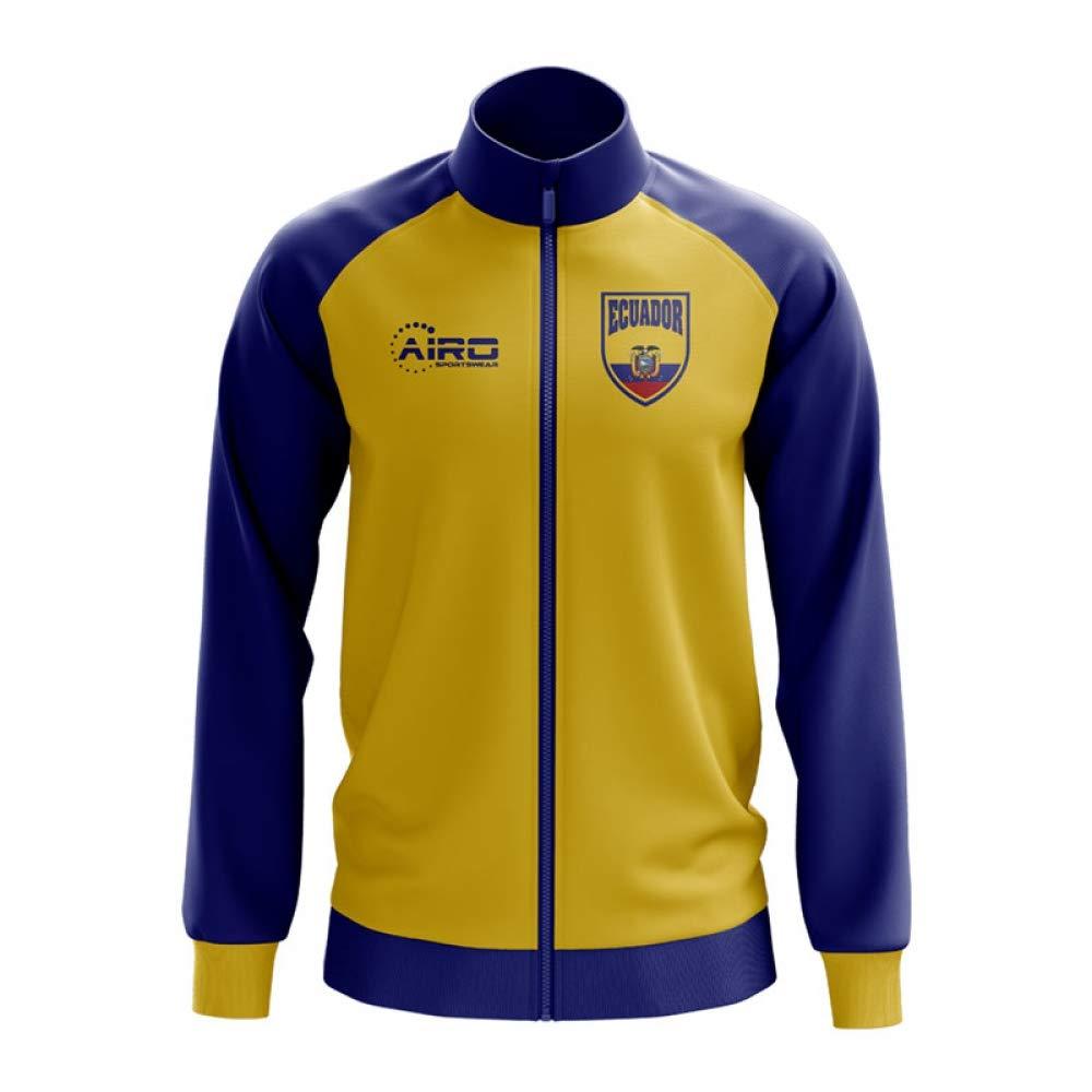 Airo Sportswear Ecuador Concept Football Track Jacket (Yellow)