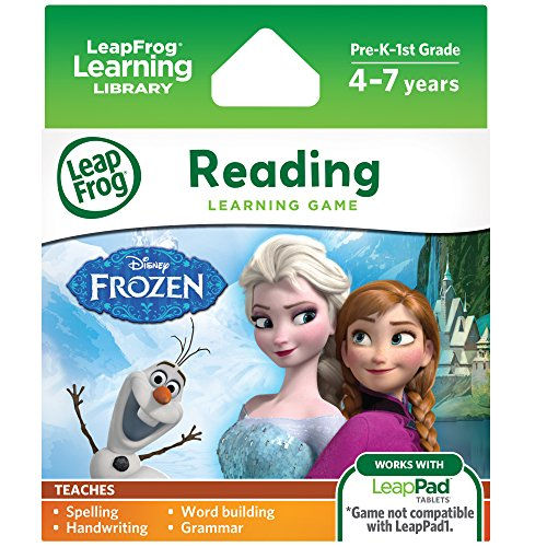 LeapFrog Disney Frozen Learning Game (for LeapPad Platinum, LeapPad Ultra, LeapPad2, LeapPad3) (Leapfrog Learning Friends Preschool Adventures Learning Game)