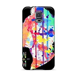 PhilHolmes Samsung Galaxy S5 Protective Hard Cell-phone Cases Support Personal Customs HD Nirvana Pictures [aEi19664yadq]
