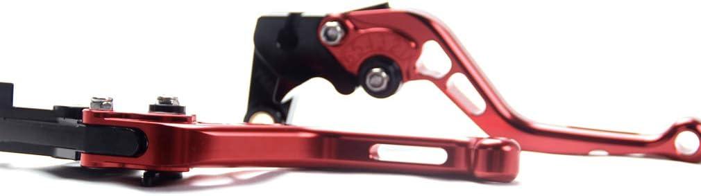 Adjustable Short Brake Clutch Levers for Yamaha Raptor 700//700R 2007-2019,YFZ450 R//X 2007-2019,YFM 250 Raptor 2008-2019 Black