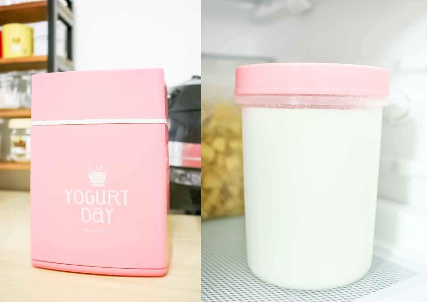 Yogurt Day Non-Electric Home Yogurt Maker, 30 Ounces, Pink by Yogurt Day (Image #6)