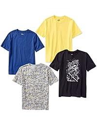 Boys' 4-Pack Short Sleeve T-Shirt