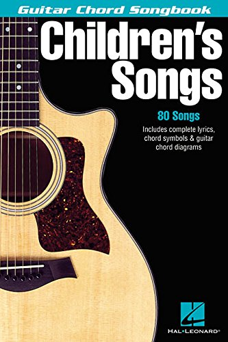 - Children's Songs (Guitar Chord Songbooks)