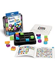 Learning Resources Mental Blox Go!, 30 Portable Problem Solving and Imaginative Games & Puzzles, Ages 5+