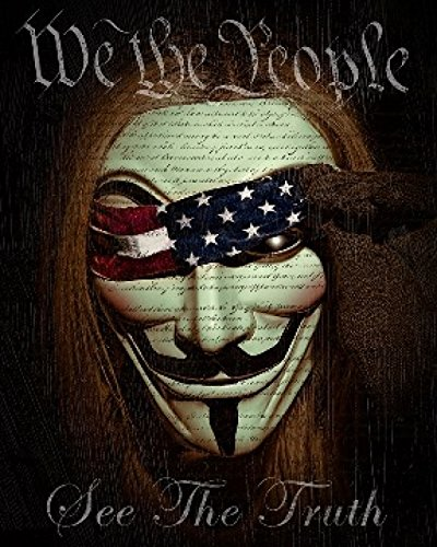 We The People See The Truth Poster Print