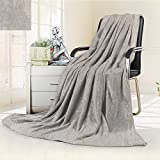 Philiphome Luminous Microfiber Throw Blanket Natural Stone Texture and Surface Background in high Resolution Glow in The Dark Constellation Blanket, Soft and Durable Polyester(60''x 50'')