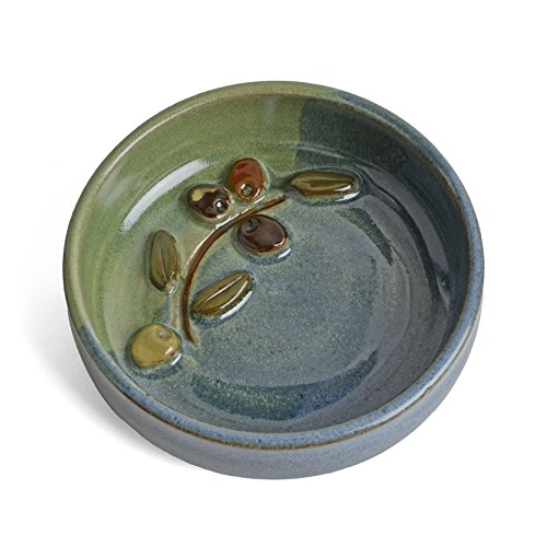 MudWorks Pottery Olive Oil Dipping Dish - Olive Oil Dipping Bowl