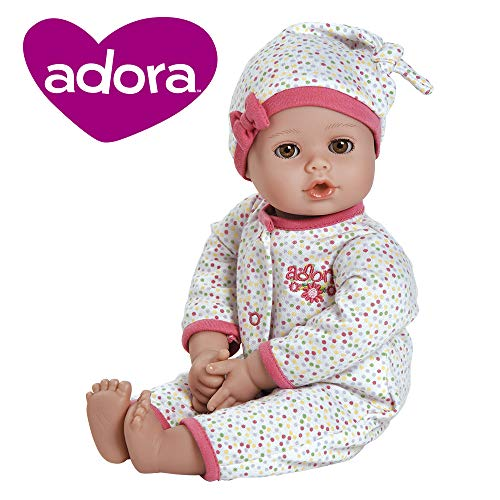 "Adora PlayTime Baby Dot Vinyl 13"" Girl Weighted Washable, used for sale  Delivered anywhere in USA"