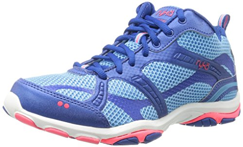 Enhance 2 Cross Women's Ryka Trainer Shoe Coral Blue CwT4pqx5