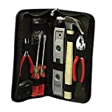 Pyramid Time Systems 92680 Tool Kit, Soft Sided Case, 11-1/2''x6''x2'', Black