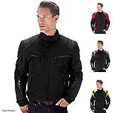Viking Cycle Ironborn Motorcycle Textile Jacket (Black-2XL)