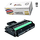 GLB Premium Quality Compatible Replacement for Ricoh 407258 / Type SP 201HA Black Toner Cartridge For Ricoh Aficio SP213 Printers