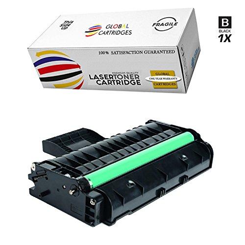 GLB Premium Quality Compatible Replacement for Ricoh 407258 / Type SP 201HA Black Toner Cartridge For Ricoh Aficio SP213 Printers by Global Cartridges (Image #1)