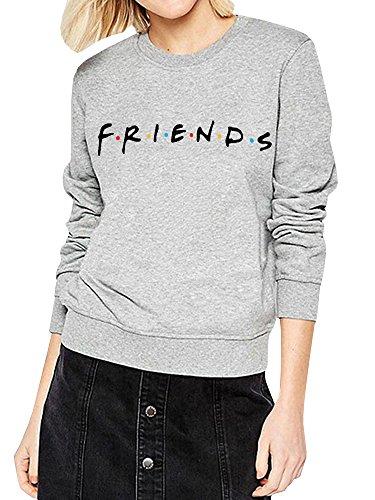 Womens Teen Girls Funny Cute Crewneck Sweatshirts Fall Winter Fleece Pullover Tops