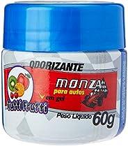Monza Odorizante Em Gel Para Auto Aroma Tutti Frutti 60G