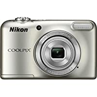Nikon Coolpix L29 16.1 MP Point and Shoot Camera with 5x Optical Zoom (Silver)