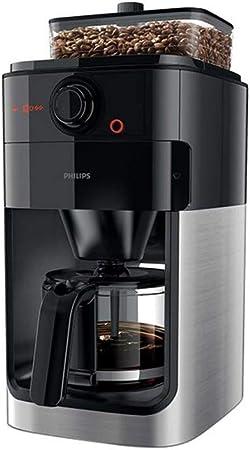 QIDI Cafetera con Filtro Maquina De Cafe Frijol/Polvo Termostático Anti Goteo 1.2 litros 1000W: Amazon.es: Hogar