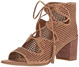 Franco Sarto Women's Honolulu Heeled Sandal, Sand, 7 Medium US