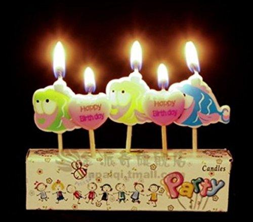 Fiesta de cumpleaños Cumpleaños velas creativos Pez Dorado ...