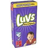 Luvs Ultra Leakguards Diapers, Size 1 48 ea