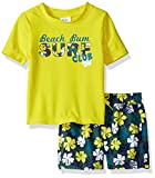 #9: Kiko & Max Baby Boys Set With Short Sleeve Rashguard Swim Shirt