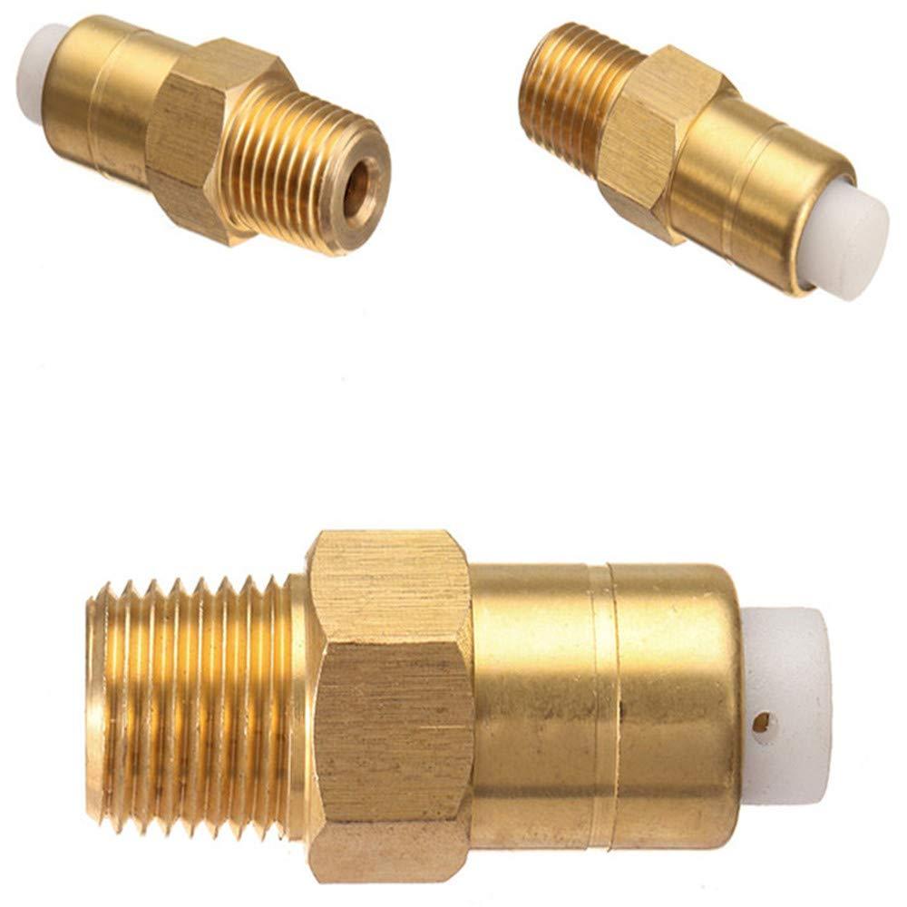 EsportsMJJ 1//4 pouce de s/écurit/é de d/égagement thermique soupape en laiton pour laveuse /à pression pompe /à eau