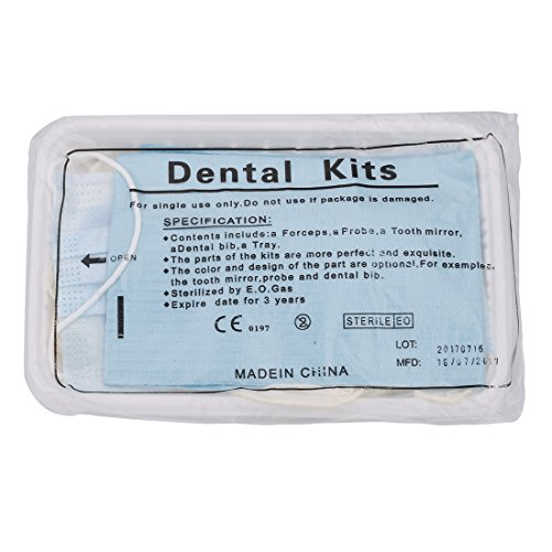Healva Home Emergency Dental Medic Kit, Professional Oral Care Kit Including Floss, Denture Bath Box, Denture Night Guard and other Examination& Cleaning Equipment by Healva (Image #6)