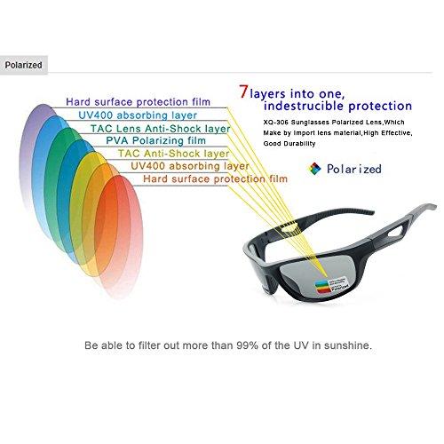 Alpinismo Ojo LBY Viento Negro Gafas Negro A de Que De Conduce El Hombre Gafas Prueba Pesca Deportes Sol El Montan Color De para Que Polarizadas Gafas Sol UV rfqr8I