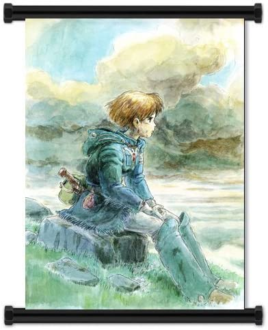 Nausicaa of the Valley of the Wind  Poster Key Art High Quality Prints