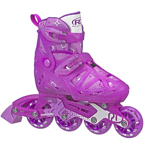 Roller Derby Girls Tracer Adjustable Inline Skate Renewed